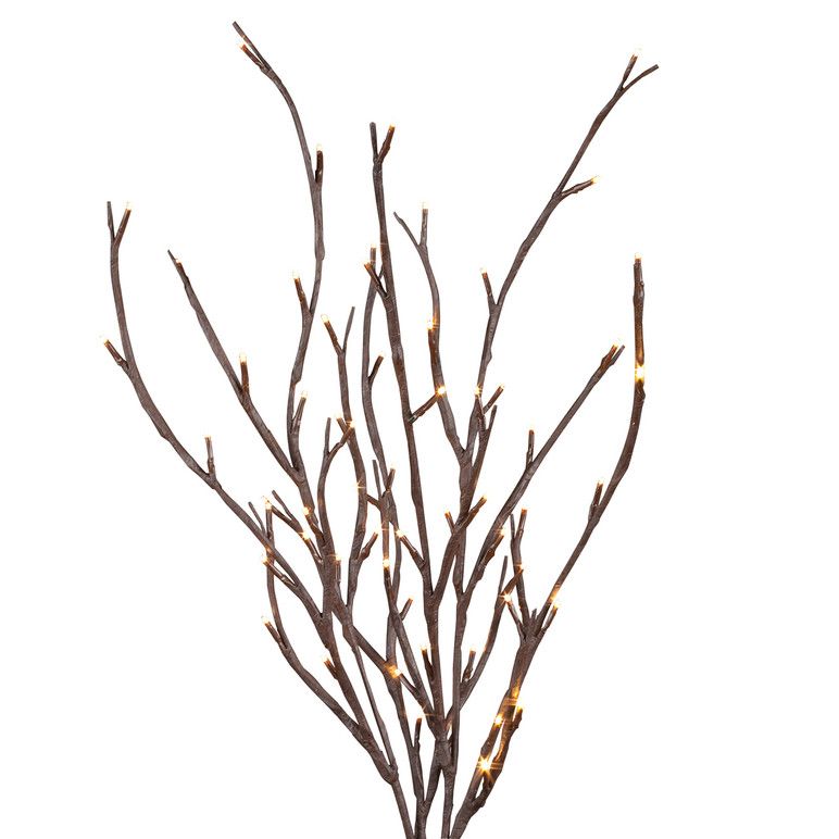 """Case of 6 Brown Branch Convertible 39"""" High"""