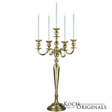 Hierarchy Candelabra - 40'' - 5 light in Gold Leaf
