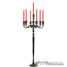 Hierarchy Candelabra - 40'' - 5 light in Onyx Bronze