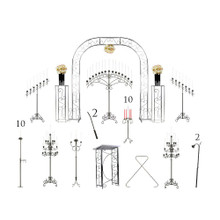 Complete Wedding Package - Traditional Candelabras