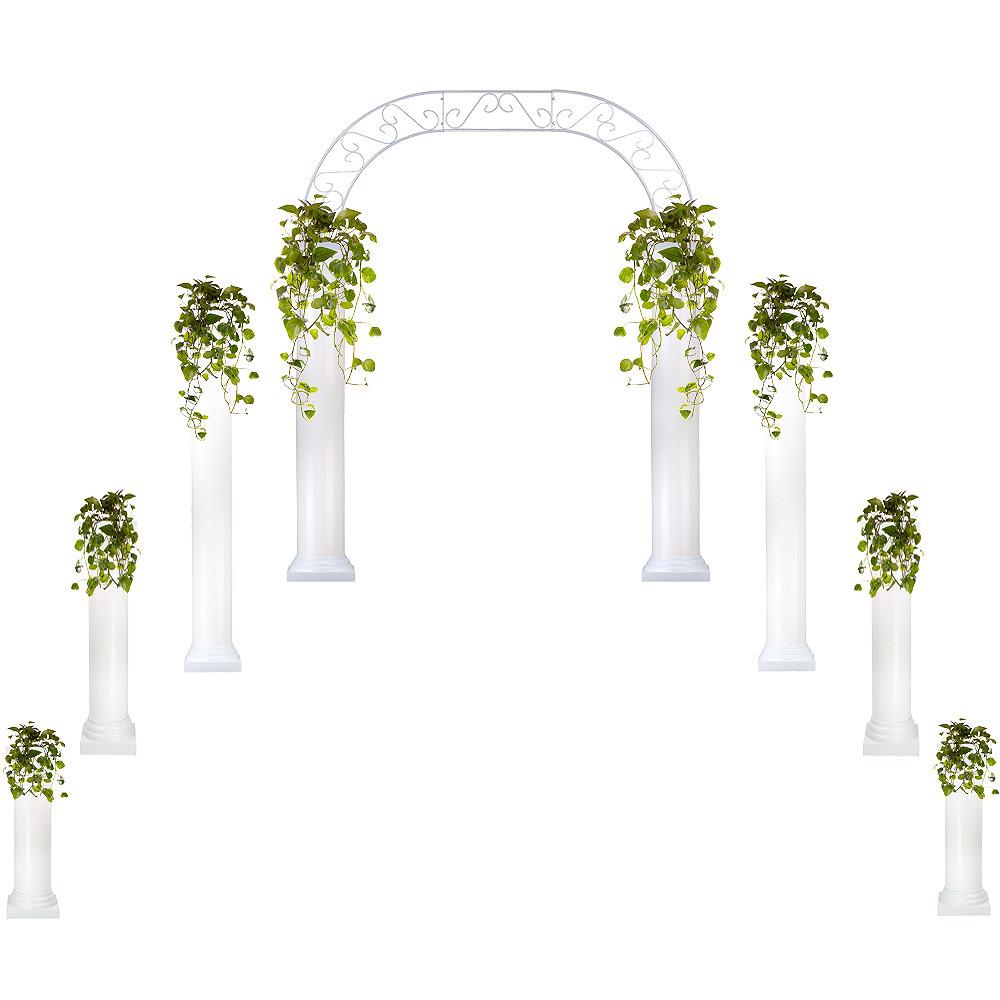 Roman Columns & Wedding Arch