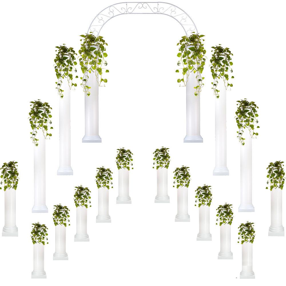 nice Eventswholesale.com Part - 11: Complete Wedding Package - Roman Columns u0026 Wedding Arch
