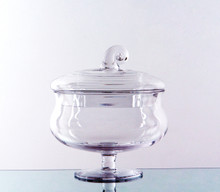 """8.5"""" x 8"""" Apothecary Jar for Candy Buffet - 4 Pieces"""