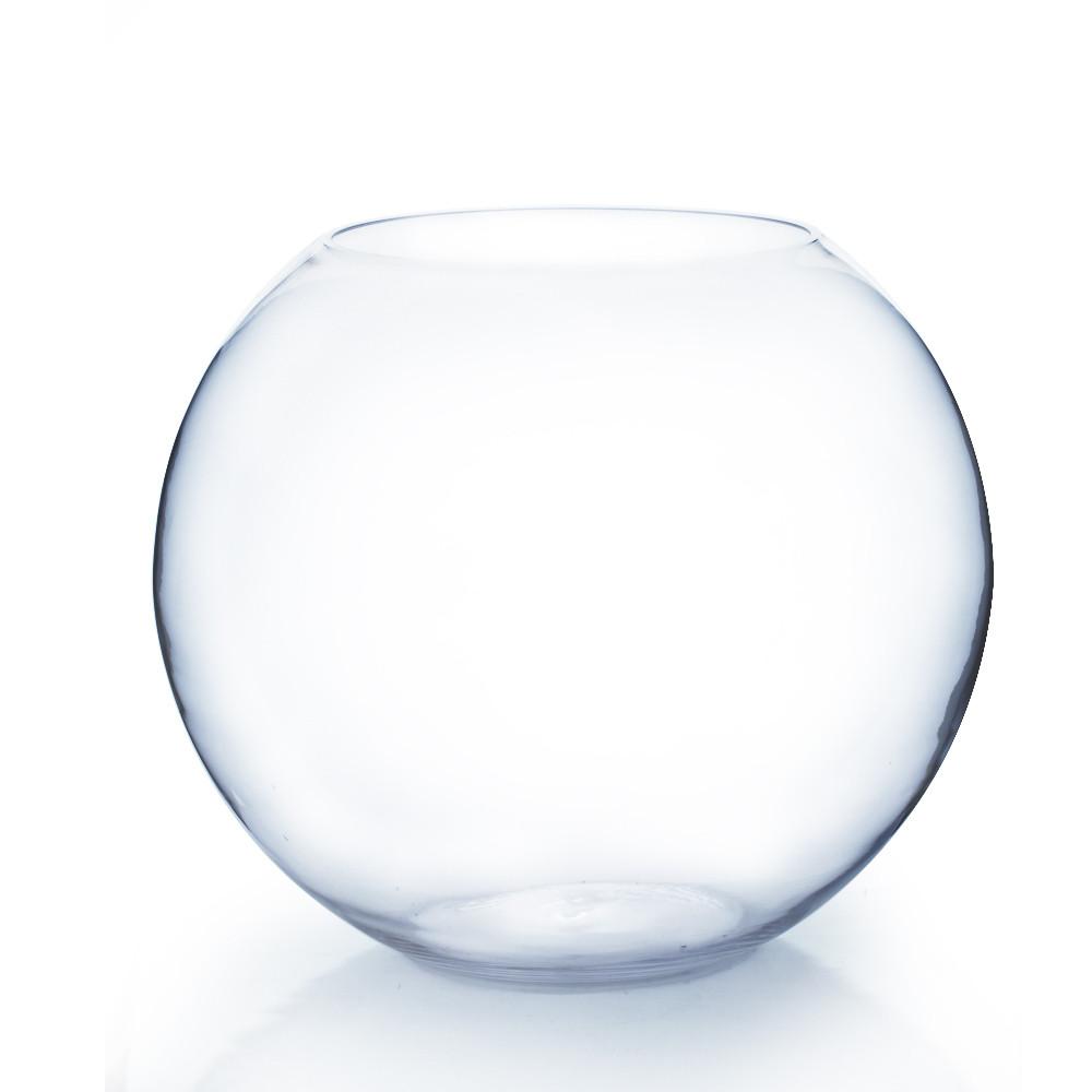19 Quot X 16 Quot Clear Round Bubble Bowl Vase Events Wholesale
