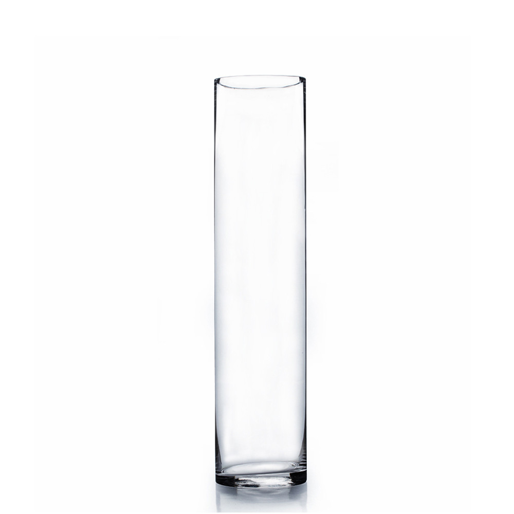 4 x 18 cylinder glass vase 12 pieces