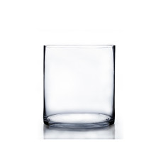 "6"" x 6"" Cylinder Glass Vase - 12 Pieces"