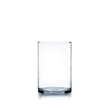 "6"" x 8"" Cylinder Glass Vase - 12 Pieces"