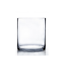 "7"" x 7"" Cylinder Glass Vase - 6 Pieces"