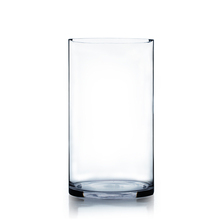 "8"" x 16"" Cylinder Glass Vase - 4 Pieces"