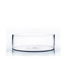 "10"" x 4"" Cylinder Glass Vase - 8 Pieces"