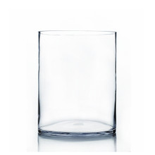 "10"" x 16"" Cylinder Glass Vase - 2 Pieces"