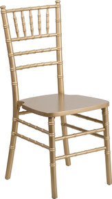Gold Supreme Wood Chiavari Chair
