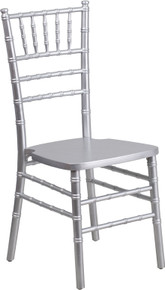 Silver Supreme Wood Chiavari Chair