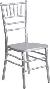 Silver Supreme Wood Chiavari Chair