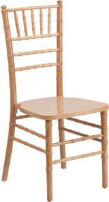 Natural Wood Supreme Wood Chiavari Chair