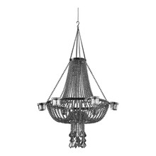 Steel Empire Chandelier - 6 Candle Holder