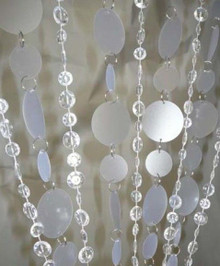 PVC and Beads Curtain - 3' x 6'