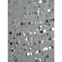 Silver Champagne Bubble Curtain - 3' x 6'