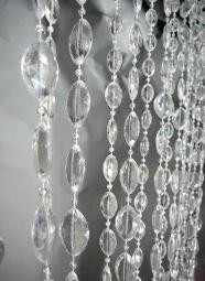 Large Non-Iridescent Crystal Pendants - 3' x 6'