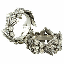 Case of 24 Dazzle Leaf Napkin Rings