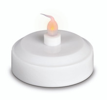 Large Dual Function Tea Lights with Flicker - 36 Pieces