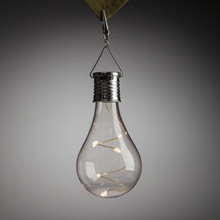 Solar Edison Bulb Umbrella Light - 12 Pieces