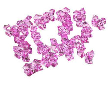 10 Bags, Acrylic Crystal Rock Fillers, Lavender (approx 150 pcs per bag)