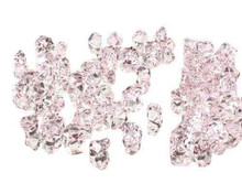 10 Bags, Acrylic Crystal Rock Fillers, Light Pink (approx 150 pcs per bag)