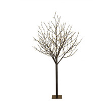 6ft Indoor/Outdoor Warm White Multifunctional City Lights Tree, Electric