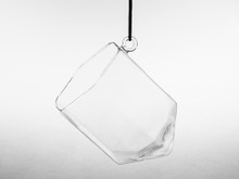 Hexagonal Frameless Geometric Glass Terrarium - 12 Pieces