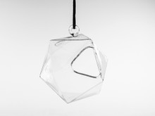 Icosahedron Frameless Geometric Terrarium - 12 Pieces