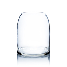 Clear Dome Shape Terrarium Bowl Glass Vase, 11.5 Inches High - 4 Pieces