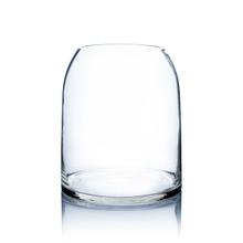 Clear Dome Shape Terrarium Bowl Glass Vase, 11.5 Inches High - 4 Pieces