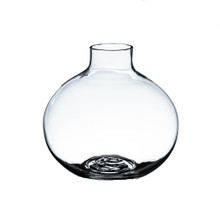 4 Inch Clear Small Round Bud Vase - 24 Pieces