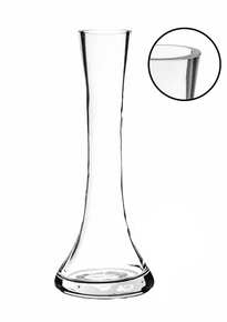 7.75 Inch Clear Small Round Bud Vase - 24 Pieces
