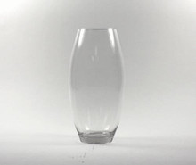 14 Inch Clear Bullet Vase - 6 Pieces
