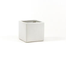 5 Inch White Square Cube - 12 Pieces