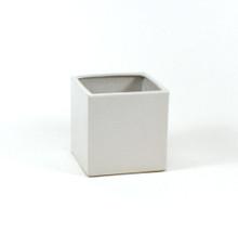6 Inch White Square Cube - 12 Pieces