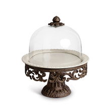 "GG Collection Cake Dome and Pedestal, 16""H"