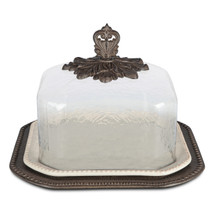 GG Collection Acanthus Pastry Keeper, 17 Inch