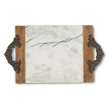 Large Antiquity Marble Cutting/Serving Board by GG Collection