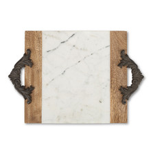 Medium Antiquity Marble Cutting/Serving Board by GG Collection