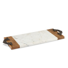 Small Antiquity Marble Cutting/Serving Board by GG Collection