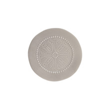8.5 Inch Medallion Stoneware Salad Plates by GG Collection - Set of 4
