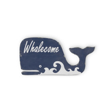 Wood Whalecome Sign - 6 Pieces