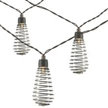 10 Light Solar ST40 Wire Light Set - 6 Pieces