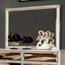 Golva Contemporary Style Mirror , Silver