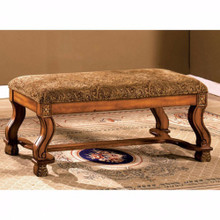 Vale Royal Traditional Bench, Antique Oak