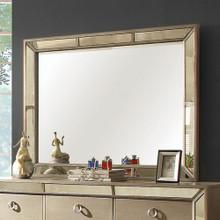 Loraine Modern Victorian Style Mirror , Silver