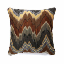 Seismy Contemporary Pillow, Multicolor, Set of 2, Large
